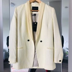Maison Scotch Yellow Blazer Suit Jacket